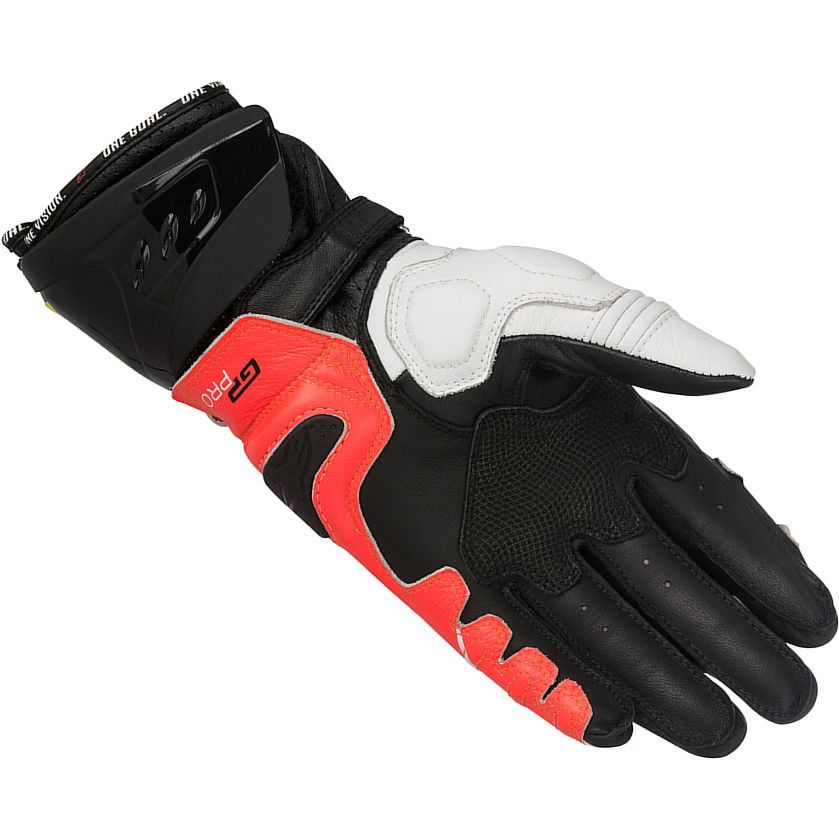 alpinestars gp pro r2 leather motorcycle gloves track race racing bike motorbike ebay. Black Bedroom Furniture Sets. Home Design Ideas
