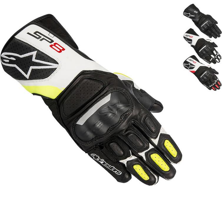 Alpinestars SP-8 v2 Leather Motorcycle Gloves