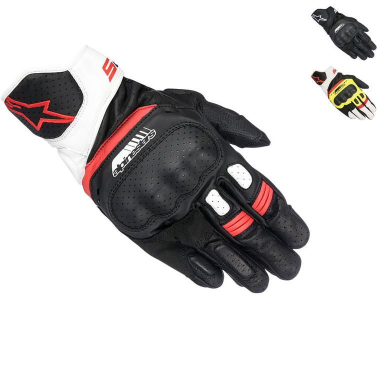 Alpinestars SP-5 Leather Motorcycle Gloves