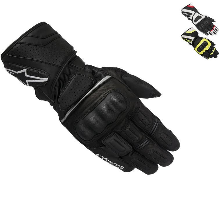 Alpinestars SP-Z DryStar Leather Motorcycle Gloves