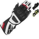 Alpinestars SP-Z DryStar Leather Motorcycle Gloves