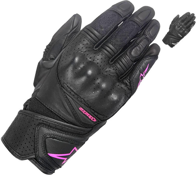 Alpinestars Stella Baika Ladies Leather Motorcycle Gloves