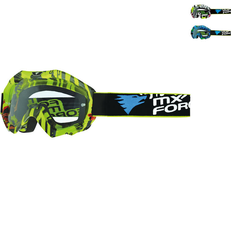 MX Force Magen Tide Motocross Goggles