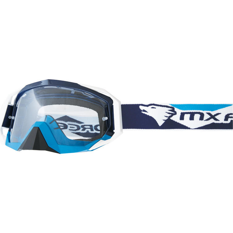 MX Force Nimbus Aria Motocross Goggles