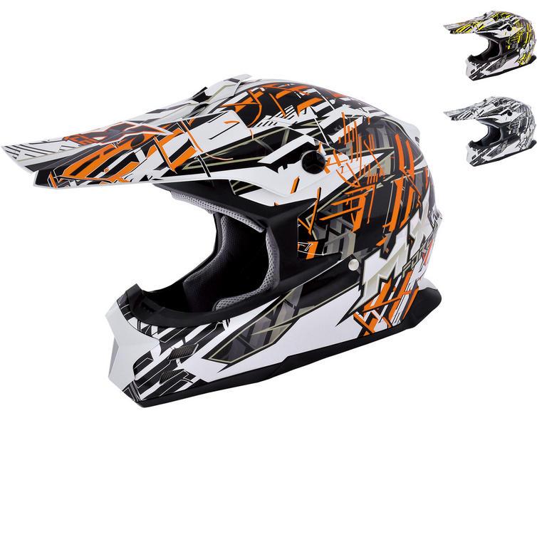 MX Force Race Shiver Motocross Helmet