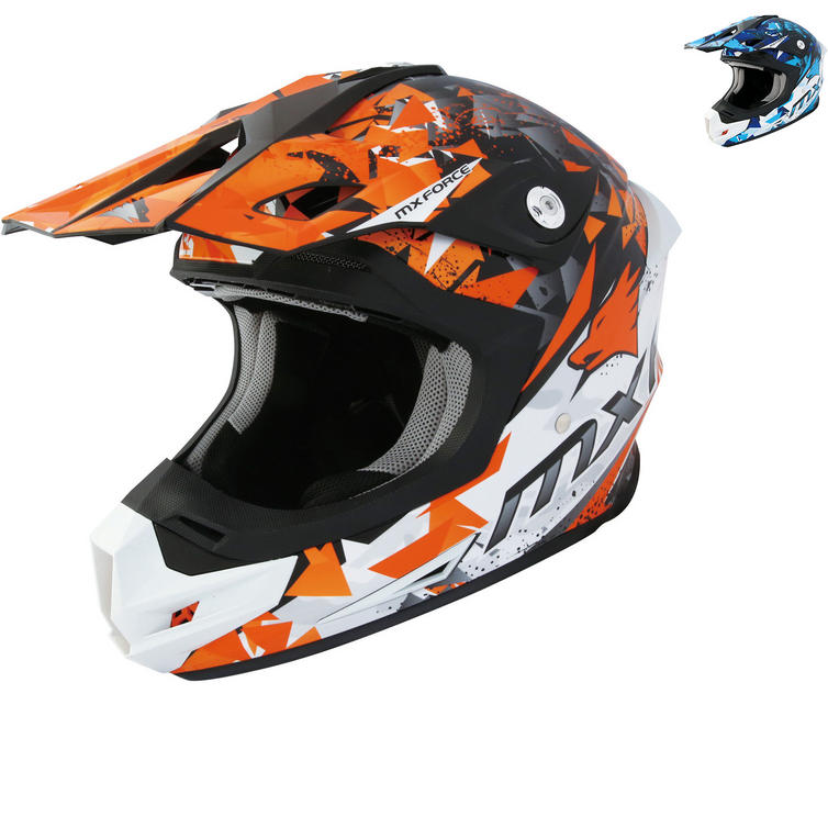 MX Force MHM39 Raz-V Motocross Helmet