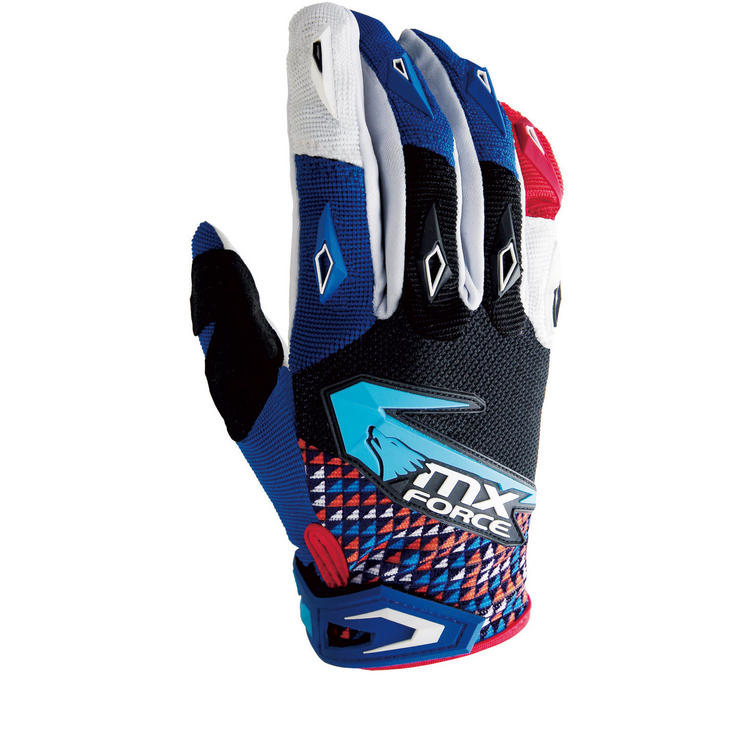 MX Force Glow Trump Motocross Gloves