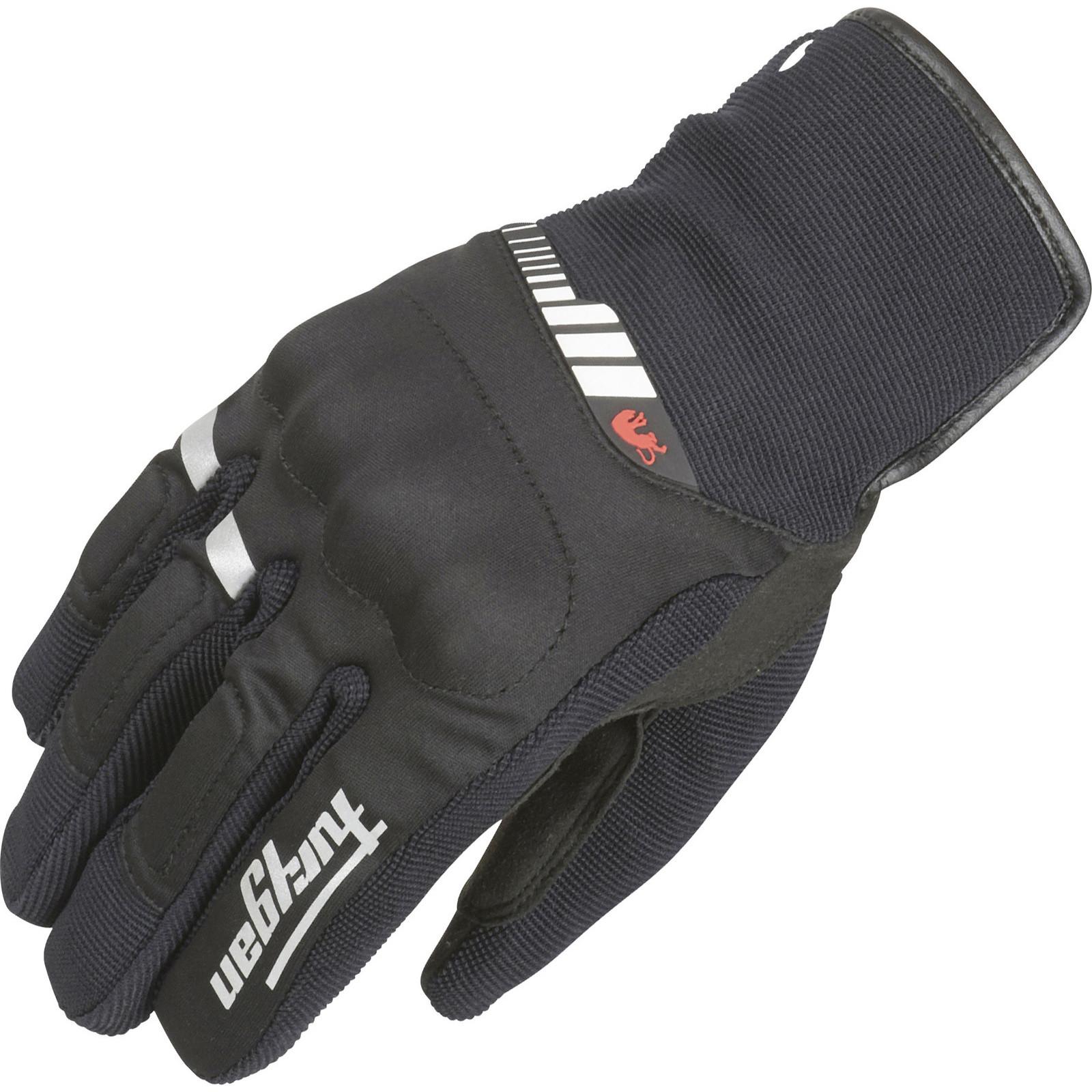 Furygan-Jet-All-Season-Motorcycle-Gloves-Waterproof-Textile-Biker-Short-Glove