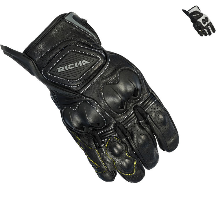 Richa Indy Leather Motorcycle Gloves