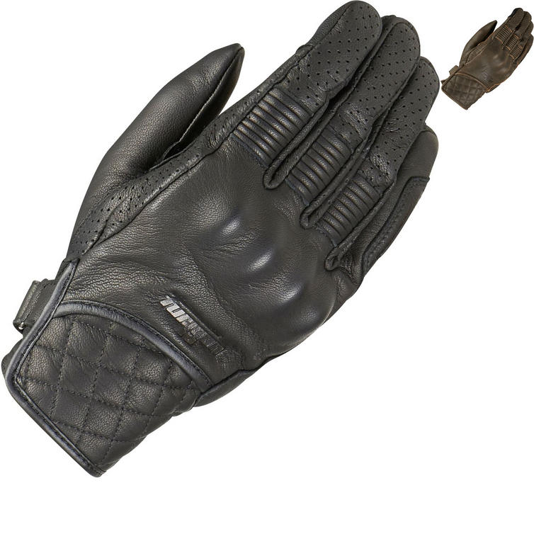 Furygan Tom D3O Leather Motorcycle Gloves