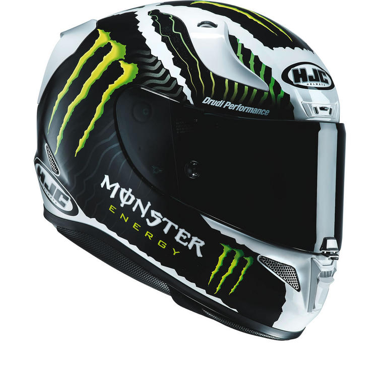 HJC RPHA 11 Monster Military White Sand Limited Edition Motorcycle Helmet