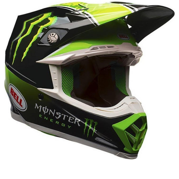 Bell Moto-9 Tomac Replica Motocross Helmet