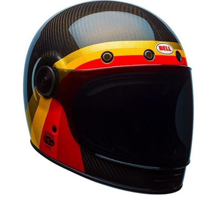 Bell Bullitt Carbon Chemical Candy Motorcycle Helmet
