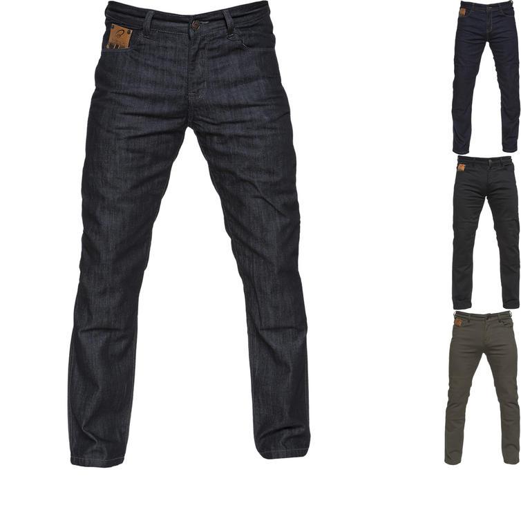 Black Ballistic Motorcycle Jeans