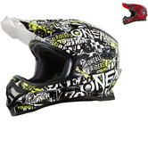 Oneal 3 Series Attack Motocross Helmet