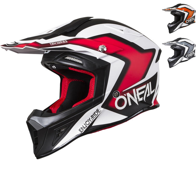 Oneal 10 Series Flow True Motocross Helmet
