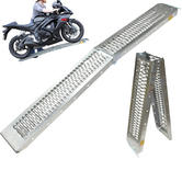 Black Pro Range Steel Folding Motorcycle Ramp (B5249)