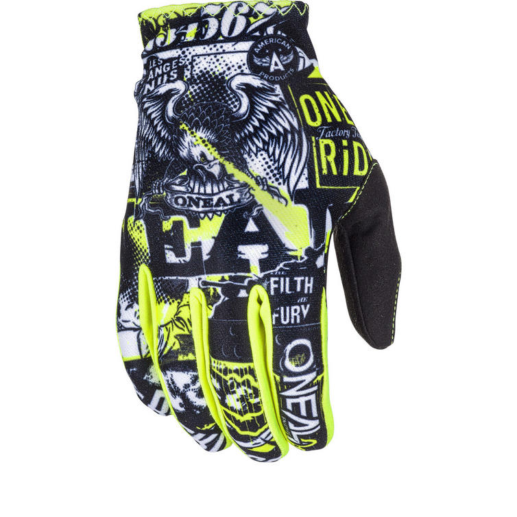 Oneal Matrix 2018 Attack Youth Motocross Gloves