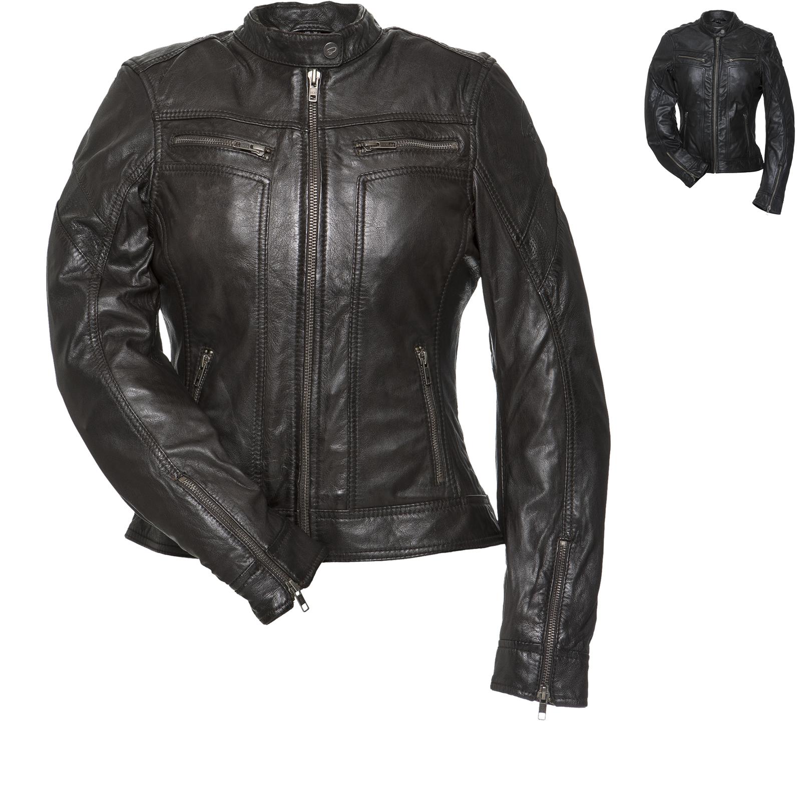 NEW CUSTOM 4599 BLACK MOTORBIKE MOTORCYCLE COWHIDE LEATHER CE ARMOURED JACKET