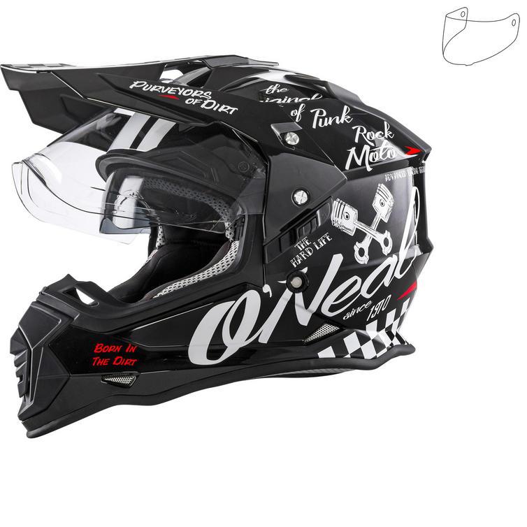 Oneal Sierra II Torment Dual Sport Helmet & Visor