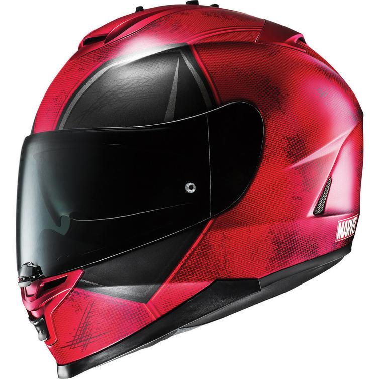 hjc is 17 deadpool motorcycle helmet visor full face. Black Bedroom Furniture Sets. Home Design Ideas