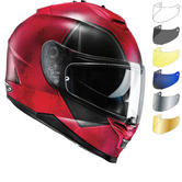 HJC IS-17 Deadpool Motorcycle Helmet & Visor