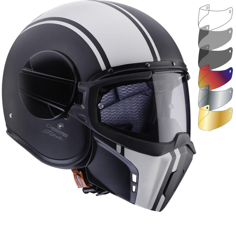 Caberg Ghost Legend Open Face Motorcycle Helmet & Visor