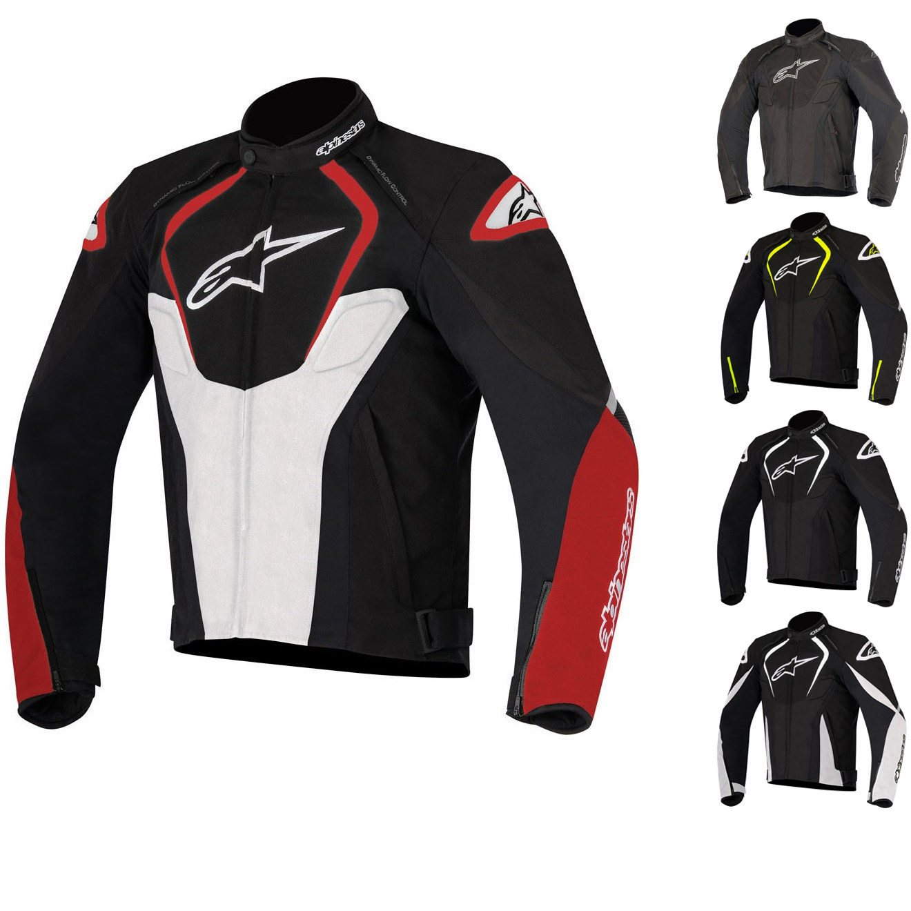 Alpinestars Motorcycle Jacket >> Alpinestars T Jaws Wp V2 Motorcycle Jacket Motorbike Thermal