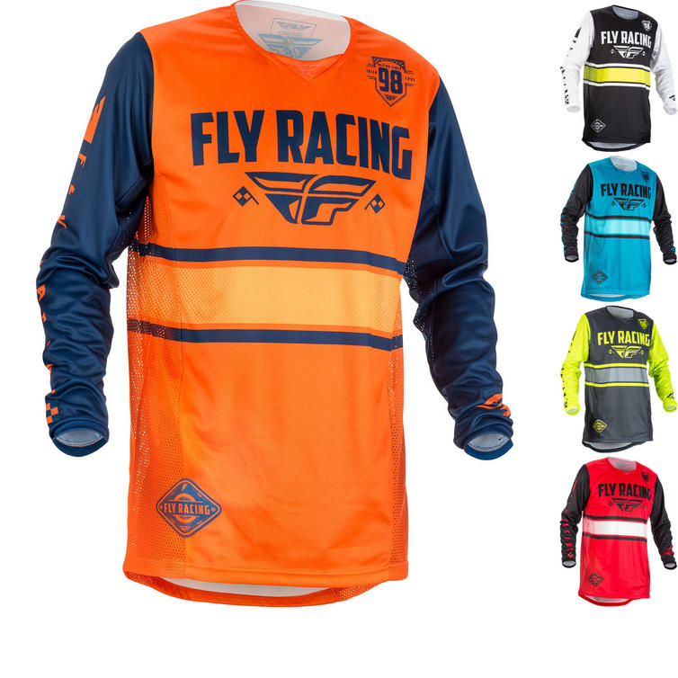 Fly Racing 2018 Kinetic Era Youth Motocross Jersey