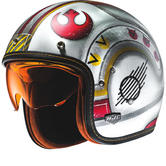 HJC FG-70S X-Wing Fighter Pilot Open Face Motorcycle Helmet