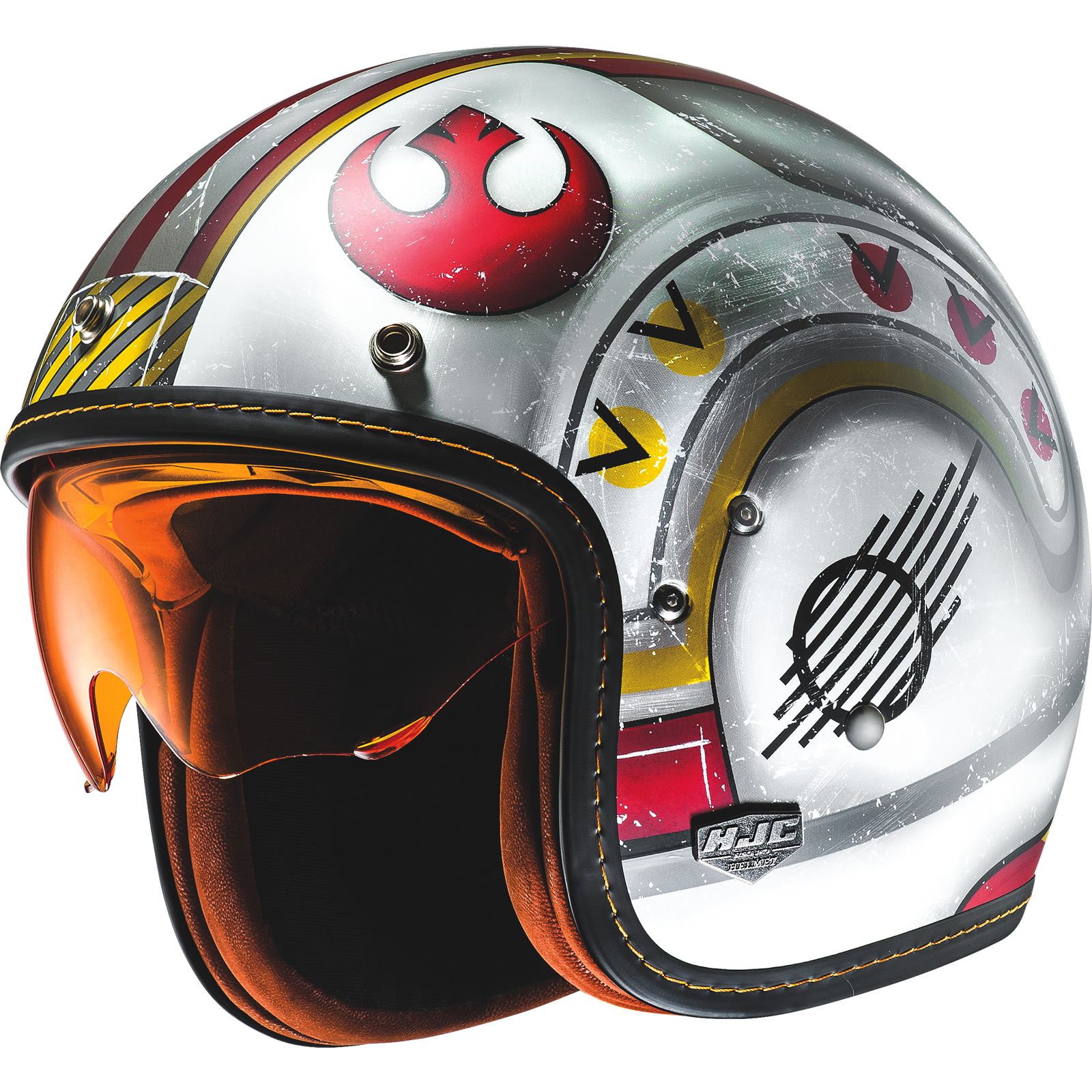 Fighter Pilot Motorcycle Helmet HJC FG-70S X-Wi...