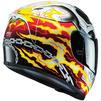 HJC FG-ST Ghost Rider Motorcycle Helmet & Visor Thumbnail 9