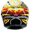 HJC FG-ST Ghost Rider Motorcycle Helmet & Visor Thumbnail 6