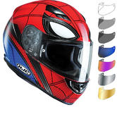 HJC CS-15 Spiderman Homecoming Motorcycle Helmet & Visor