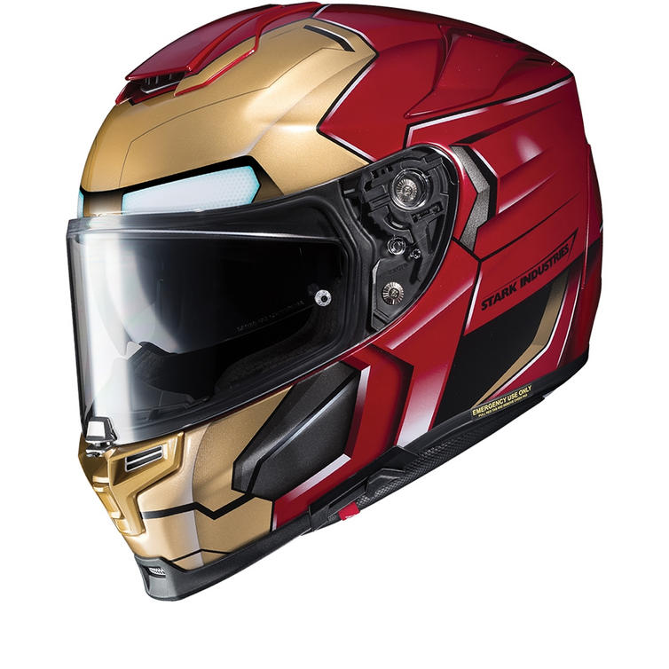 HJC RPHA 70 Iron Man Homecoming Motorcycle Helmet