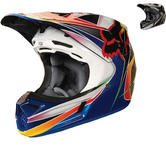 Fox Racing V3 Kustm Motocross Helmet