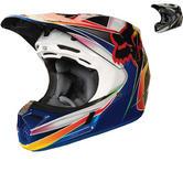 Fox Racing V3 Kustm Motocross Helmet