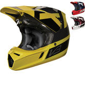 Fox Racing V3 Preest Motocross Helmet