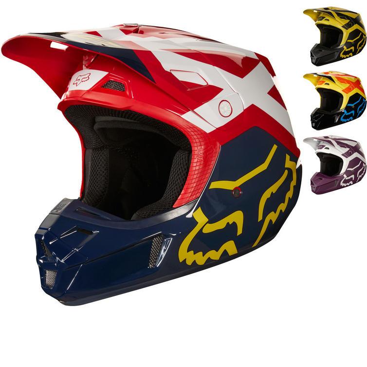 Fox Racing V2 Preme Motocross Helmet