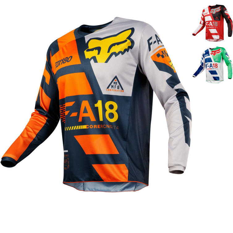 Fox Racing 180 Sayak Motocross Jersey