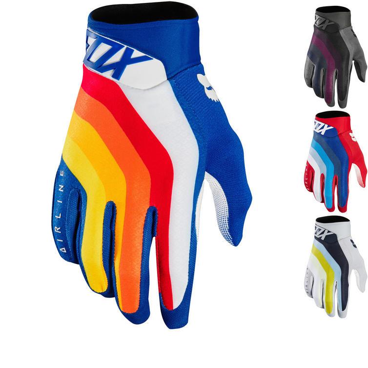 Fox Racing Airline Draftr Motocross Gloves