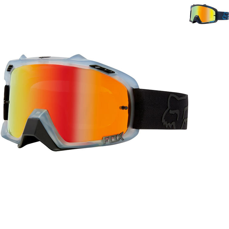 Fox Racing Air Defence Krona Motocross Goggles
