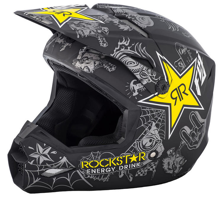 Fly Racing 2018 Elite Rockstar Motocross Helmet