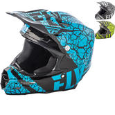 Fly Racing 2018 F2 Carbon Fracture Motocross Helmet