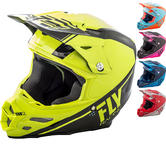 Fly Racing 2018 F2 Carbon Rewire Motocross Helmet