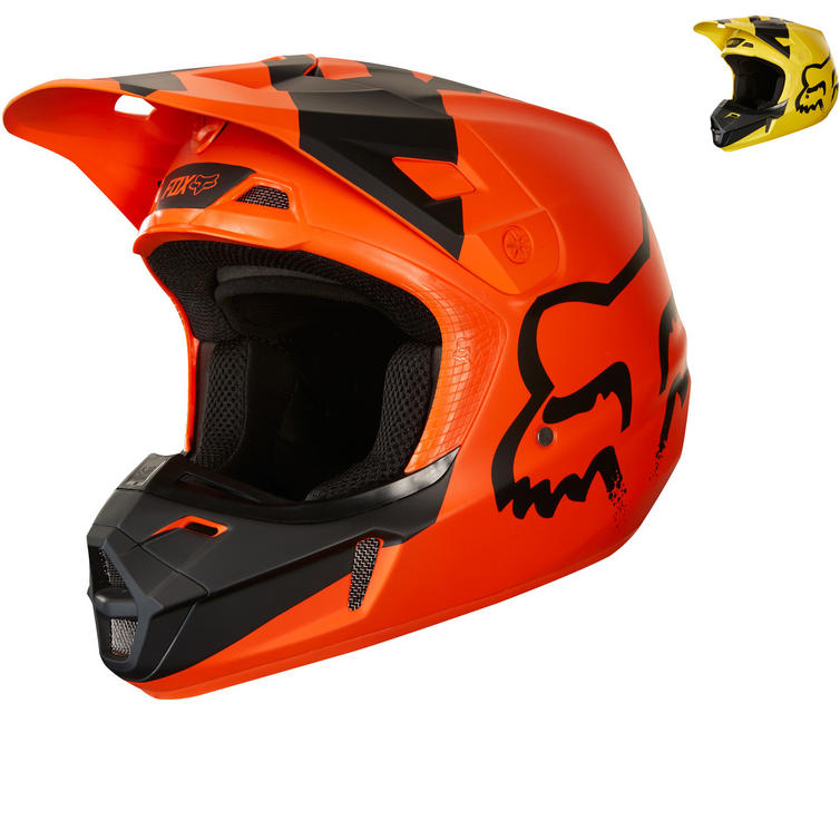 Fox Racing Youth V1 Mastar Motocross Helmet