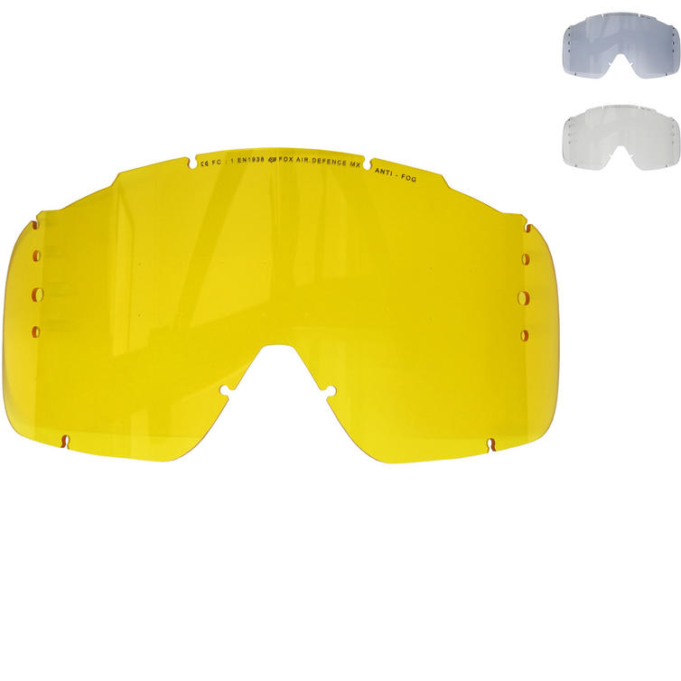 Fox Racing Air Defence Roll-Off System Goggle Lens Raised