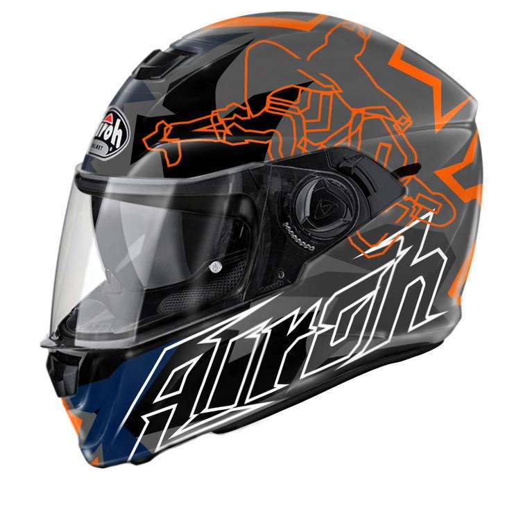 Airoh Storm Bionikle Motorcycle Helmet
