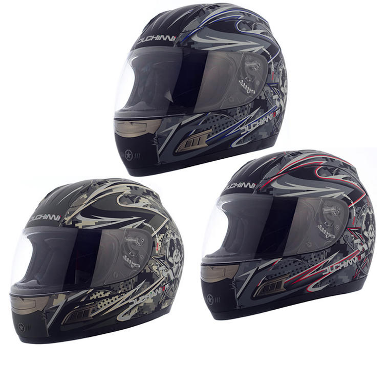 a9af672b Duchinni D731 Full Face Motorcycle Helmet - Full Face Helmets -  Ghostbikes.com