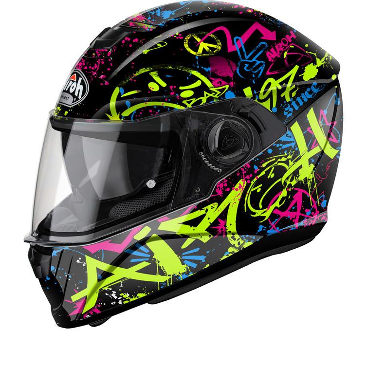 Airoh Storm Cool Bicolour Motorcycle Helmet